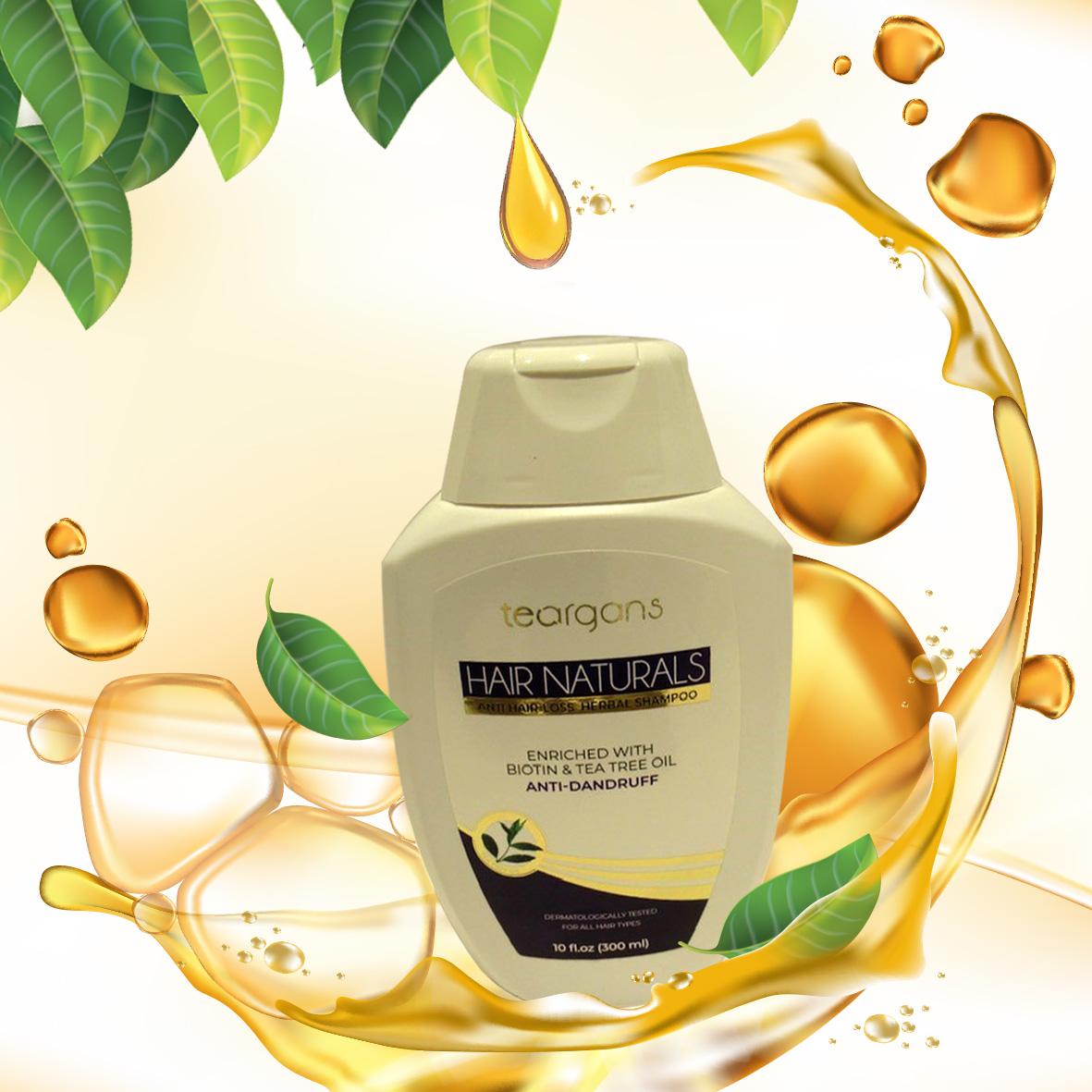 teargans anti-dandruff shampoo