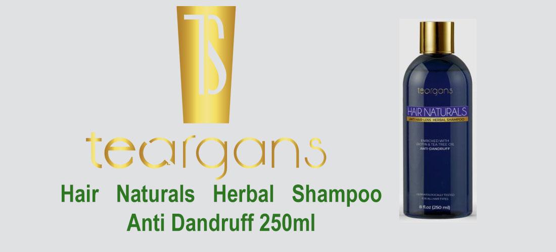 Teargans Hair Naturals Herbal Shampoo / Anti Dandruff